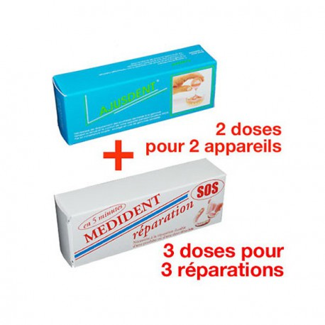 PACK SECURITE PROTHESE DENTAIRE
