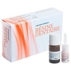 resine dentaire rose