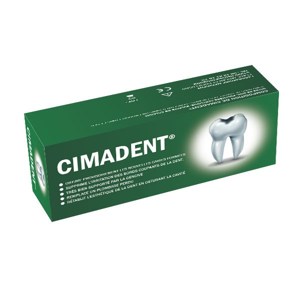 pansement dentaire cimadent